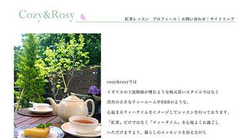 紅茶教室cozy&rosy